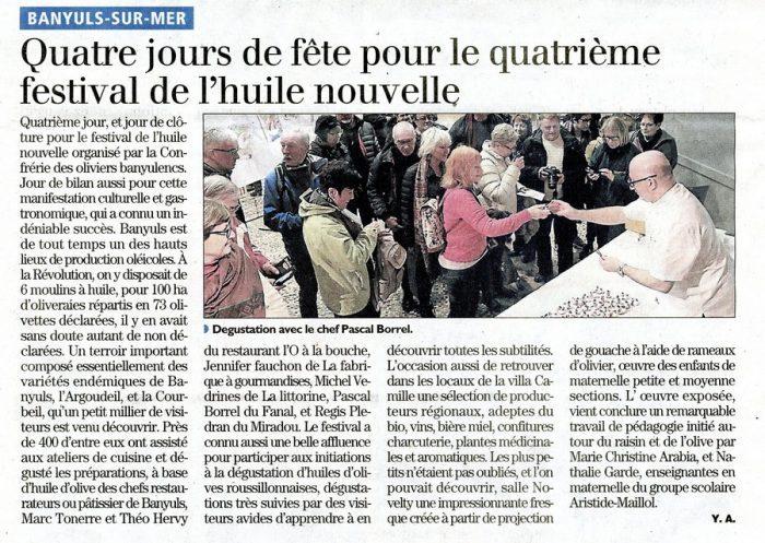 Festival De L U0026 39 Huile D U0026 39 Olive Nouvelle 2017